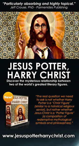 harry potter and jesus Jesus potter harry christ the fascinating parallels between two of the world's most popular literary characters derek murphy holyblasphemy press.