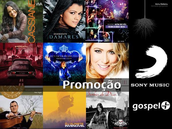 Promoção Gospel+ Sony Music Gospel: Mais de 300 prêmios para você