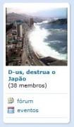 Após tragédia, comunidade do Orkut pede que Deus destrua o Japão