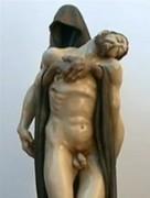 Igreja Católica choca fiéis ao expor estátua de Jesus Cristo nu com pênis a mostra