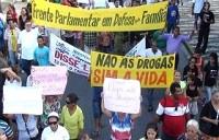 Marcha da Maconha satiriza evangélicos em marcha paralela contra a droga
