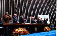 Igreja Assembléia de Deus é homenageada no Senado e Pastor Samuel Câmara discursa na tribuna