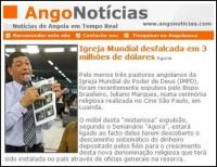 Igreja Mundial é notificada por remessas ilegais de dinheiro ao Brasil