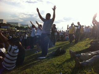 manifestacao contra plc 122 8 Saiba como foi o protesto e manifestação contra a PLC 122 organizada pelo Pastor Silas Malafaia em Brasília