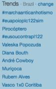 Evangélicos acusam Twitter de boicote a campanha #ContraPL122; Gays e simpatizantes ironizam manifestantes