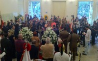Pastores e padres celebram culto ecumênico pela morte do ex presidente do Brasil Itamar Franco