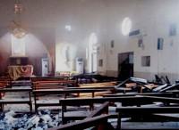 Ataque a Igreja deixa 23 feridos após explosão de carro bomba