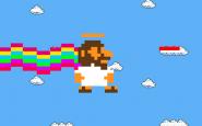 """Nyan Cat Jesus é o novo viral no youtube que mostra Jesus acabando com as """"coisas más do mundo"""""""