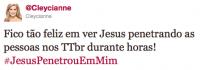 Frase com nome de Jesus mas com sentido com conotação sexual causa revolta entre cristãos na internet