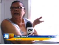Senhora de 76 anos afirma que foi Deus quem lhe deu forças para salvar vizinho de incêndio
