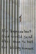 Pode um suicida ir para o céu? Foto de pessoa que se jogou do World Trade Center nos atentados causa polêmica