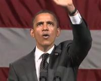 """Barack Obama é chamado de anticristo por manifestante e responde: """"Jesus Cristo é o Senhor"""". Assista"""