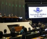 Câmara dos Deputados faz sessão solene em homenagem à Sociedade Bíblica do Brasil
