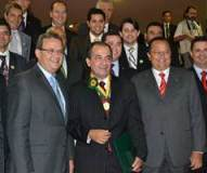 Silas Malafaia, R.R. Soares e Valdemiro Santiago recebem Medalha do Mérito Legislativo