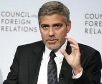 O ator George Clooney fala da importância do trabalho cristão na crise humanitária no Sudão