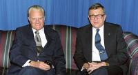 Evangelista Billy Graham relembra o evangélico Chuck Colson, falecido no último sábado