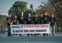 Evangélicos anunciam que farão protesto contra o Congresso de Adoração Diante do Trono durante o evento