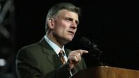 Receita Federal dos Estados Unidos está pressionando entidades contrárias ao aborto e casamento gay, diz pastor Franklin Graham