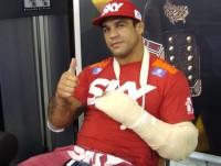 """Fora do UFC 147 por lesão, Vitor Belfort diz, """"Temos que agradecer a Deus em todos os momentos"""""""