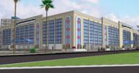 projeção da fachada