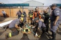 Desabamento de igreja em obras em São Paulo deixa homem soterrado
