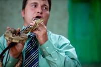 Pastor pentecostal conhecido por manusear cobras durante ministrações morre após ser mordido por uma cascavel