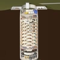 """Empresa cria prédio subterrâneo com apartamentos para resistir ao """"apocalipse"""""""