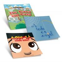 Graça Editorial lança livros infantis e Gospel+ sorteia exemplares. Confira