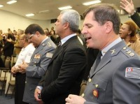 "Vice-presidente dos PMs de Cristo afirma que ""o uso da força faz parte dos princípios bíblicos"""