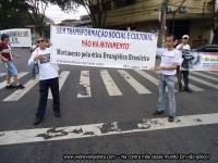 """Movimento pela Ética Evangélica Brasileira realiza protestos em eventos gospel e relata reprovação de participantes com """"gestos obscenos"""""""