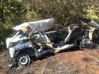 """Motorista escapa com vida de grave acidente e afirma: """"Foi um milagre de Deus"""""""