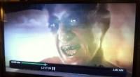 """Imagem do """"demônio"""" aparece durante transmissão de emissora de TV e gera polêmica. Assista"""