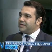 Marco Feliciano fala no Jornal Nacional contra proposta de descriminalização do uso de drogas