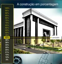 """""""Templo de Salomão"""", construído pela Igreja Universal, está 40 % concluído"""