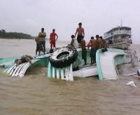 Barco que levava membros de Igreja Batista a um culto naufraga no interior do Amazonas