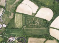 Mensagem bíblica escrita com labirinto de árvores é sucesso no Google Earth