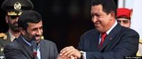 Muçulmano, presidente do Irã Mahmoud Ahmadinejad afirma que Hugo Chávez ressuscitará com Jesus Cristo para trazer paz e justiça