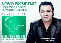 Pastor Marco Feliciano é o novo presidente da Comissão de Direitos Humanos e Minorias da Câmara; Confira o discurso da posse e a oração emocionada