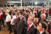 41ª AGO: abertura da eleição que definirá novo presidente das Assembleias de Deus contou com autoridades e milhares de fiéis