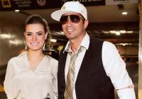 Noiva de Latino revela conversão do cantor e afirma que cerimônia de casamento será evangélica