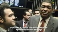 """Apóstolos Valdemiro Santiago e Renê Terra Nova manifestam apoio ao pastor Marco Feliciano: """"É muita perseguição aberta da ditadura gay"""""""