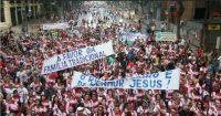 Marcha para Jesus reúne meio milhão de pessoas nas ruas do Rio de Janeiro; Veja como foi o evento