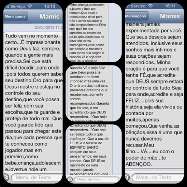 neymar-mãe-mensagem