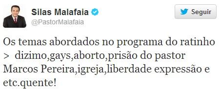 twitter Malafaia