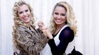 Natália Sarraff, filha de Joelma e vocalista da banda Forró Saborear, quer seguir os passos da mãe e gravar músicas gospel