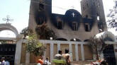 Dezenas de igrejas foram incendiadas e centenas de cristãos mortos no Egito, em ataques atribuídos à Irmandade Muçulmana