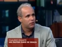 """[Vídeo] Em entrevista a Danilo Gentili, no Agora é Tarde, pastor Claudio Duarte diz: """"Falo como palhaço, sem desacreditar da seriedade de quem me ouve""""; Assista na íntegra"""