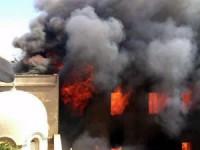 Ativistas muçulmanos incendiaram dois prédios da Sociedade Bíblica do Egito, além de igrejas e escolas cristãs