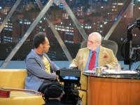Entrevista de Thalles Roberto a Jô Soares será exibida pela TV Globo na próxima quarta-feira, 30/10