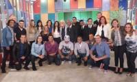 Confira como foi a participação dos vencedores do Troféu Promessas no Encontro com Fátima Bernardes; Veja fotos e assista na íntegra